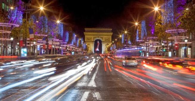 paris noel illuminations champs elysées