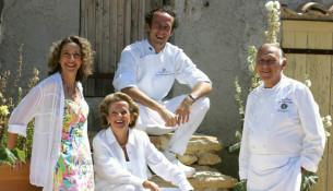 René, Jean-François, Danièle e Sandra: la famiglia Bérard