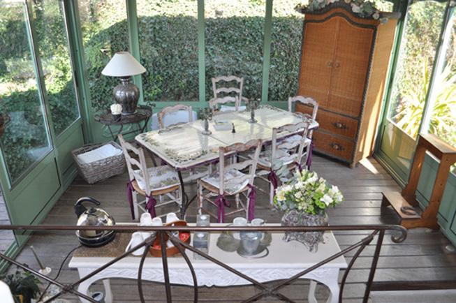 La veranda della prima colazione