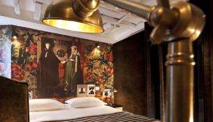 Una camera dell'Hotel Notre Dame