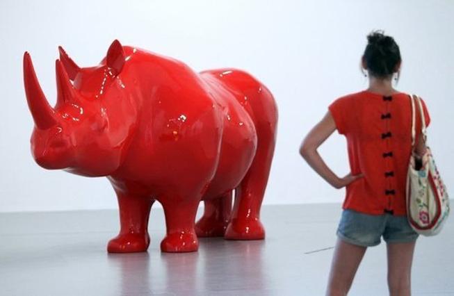 RinoceronteXavierVeilhan©L'Express