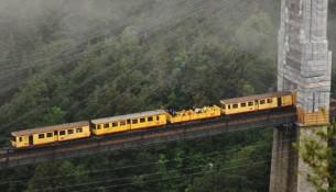 """Il mitico """"Train Jaune"""" che attraversa la Cerdagne"""