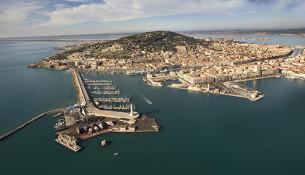 Veduta aerea di Sète © Olivier Maynard