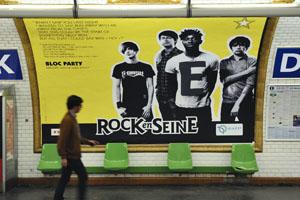 """""""PAROLES' N' ROCK"""", DU 23 AU 29 JUIN 2009 A LA STATION """"DUROCK"""" SUR LES QUAIS DE LA LIGNE 10"""