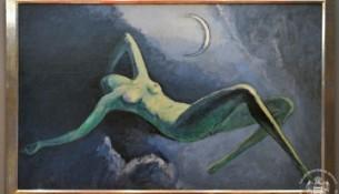 La nuit ou la lune de Kees Van Dongen 1922