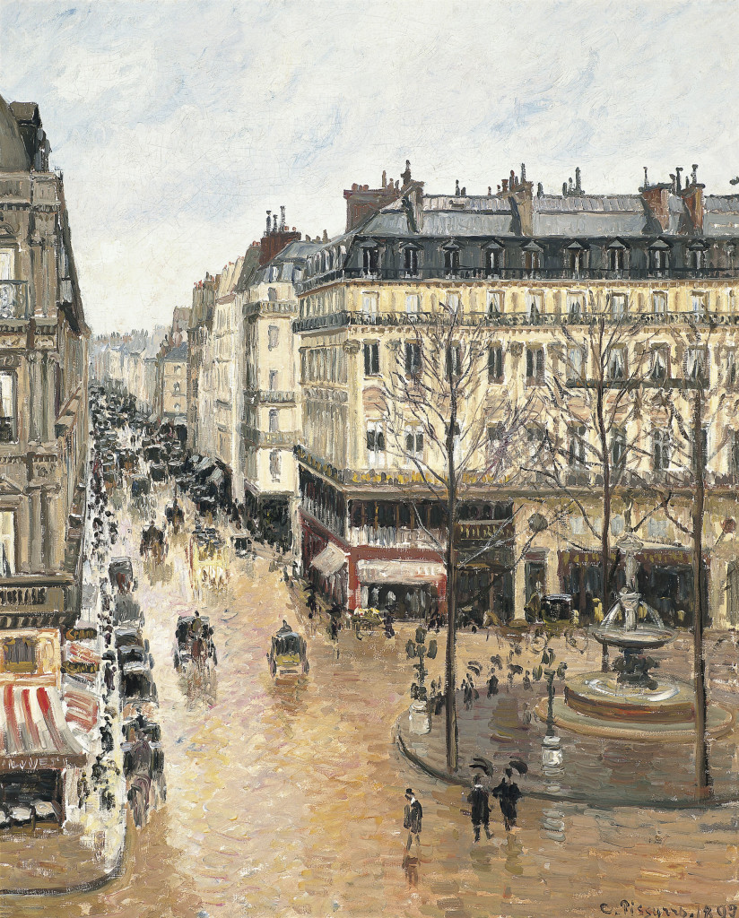 Camille Pissarro - Rue Saint-Honoré