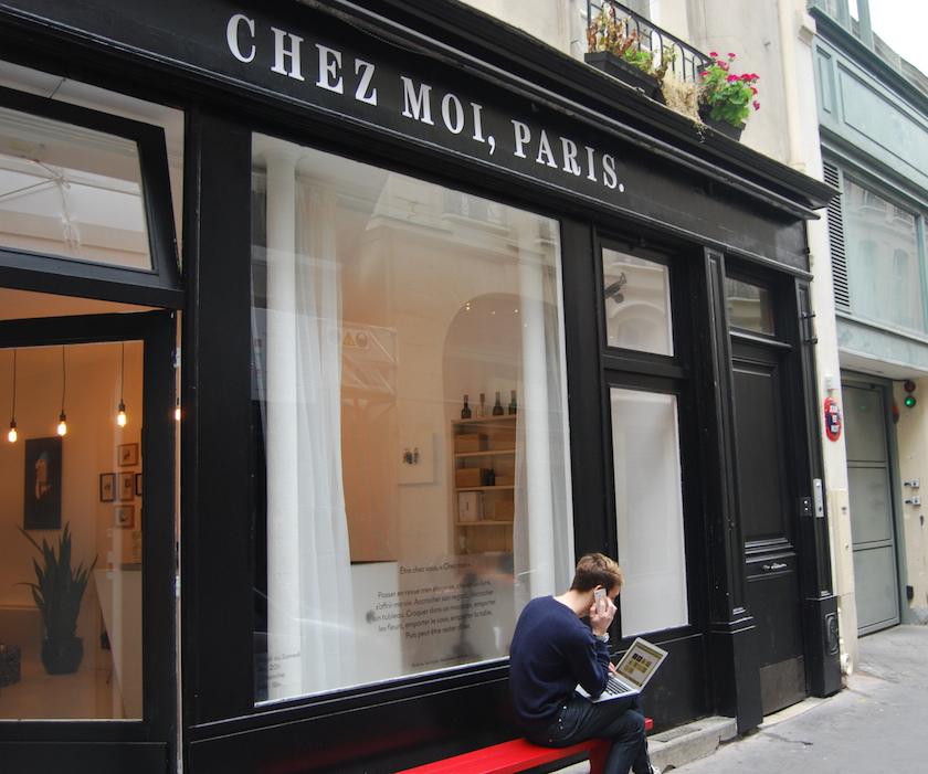 Chez moi, Paris