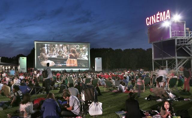 La Villette, il Cinema en plein air di Parigi