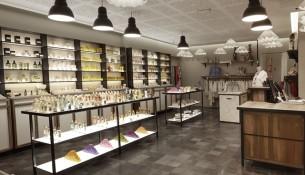 Il negozio di Milano