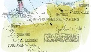 Giardina_Illustrazione Bretagna e Normandia_copy Alessandra Scandella