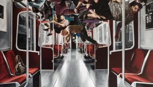 SABLIER, Retable, 2017, huile sur toile, 200 x 180 cm-min