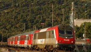 treno in circolazione